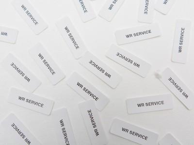 Pre označovanie bielizne používame termo štítky